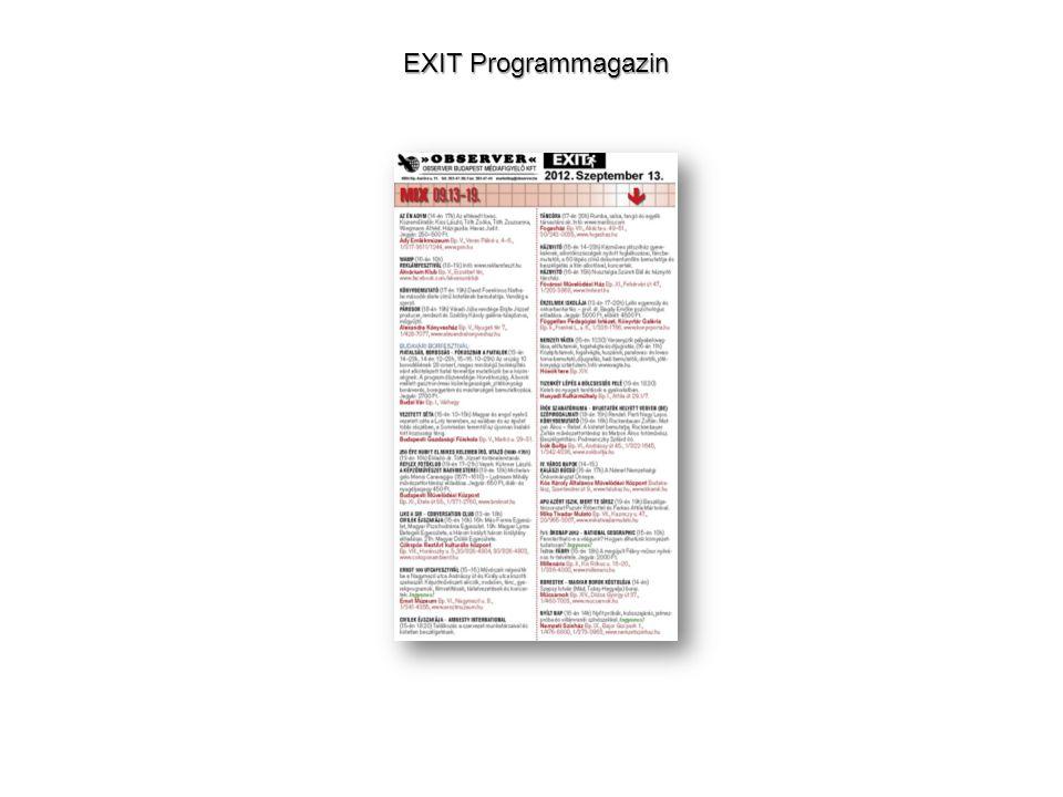 EXIT Programmagazin