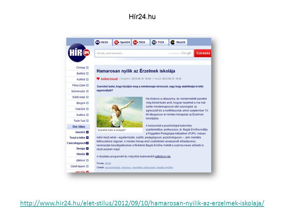 http://www.hir24.hu/elet-stilus/2012/09/10/hamarosan-nyilik-az-erzelmek-iskolaja/Hír24.hu