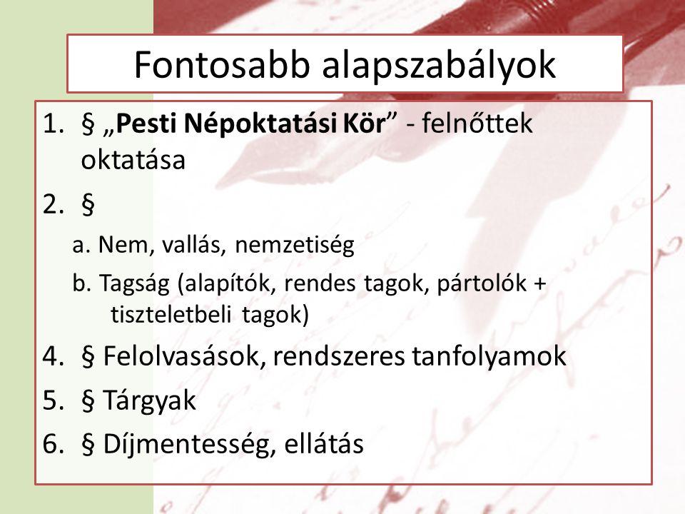 Felhasznált irodalom Áfra Nagy János: Az írástudatlanok Budapesten, Statisztikai Közlemények, 63.
