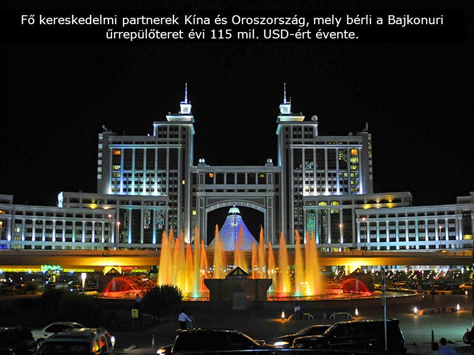 Kazahsztán a világ urán tartalékának 21%-ával rendelkezik és az uránérc termelésében a világelső.