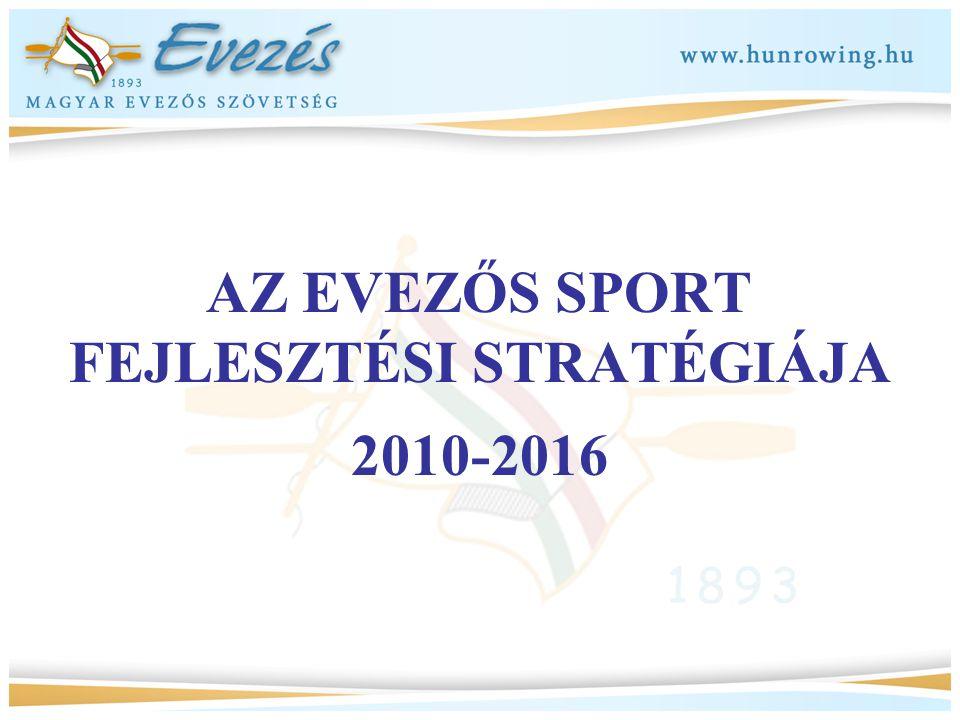 AZ EVEZŐS SPORT FEJLESZTÉSI STRATÉGIÁJA 2010-2016