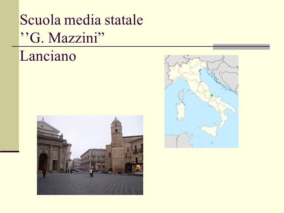 Scuola media statale ''G. Mazzini Lanciano