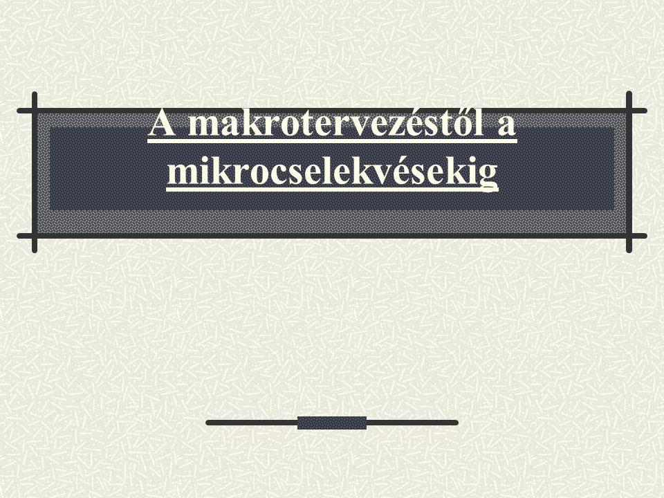 004.Mikroszint Írásbeli mikrocselekvések Lotman: 1.