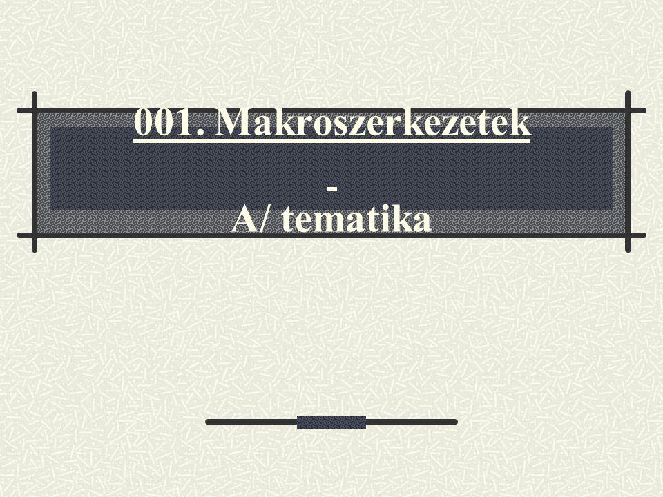 001. Makroszerkezetek A/ tematika