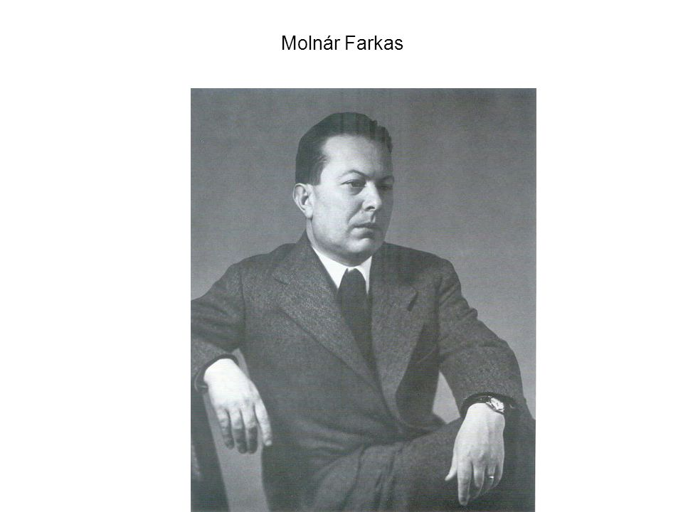 Molnár: Erdődy Mihály lakása, 1930.