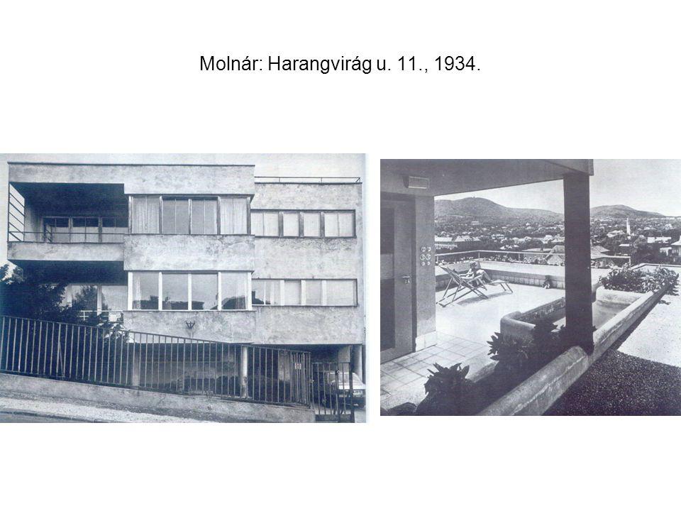 Molnár: Harangvirág u. 11., 1934.