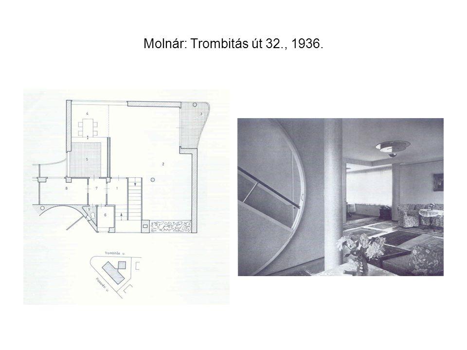 Molnár: Trombitás út 32., 1936.