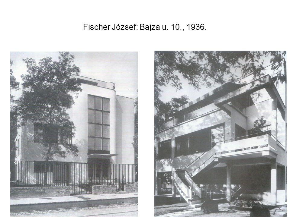 Fischer József: Bajza u. 10., 1936.