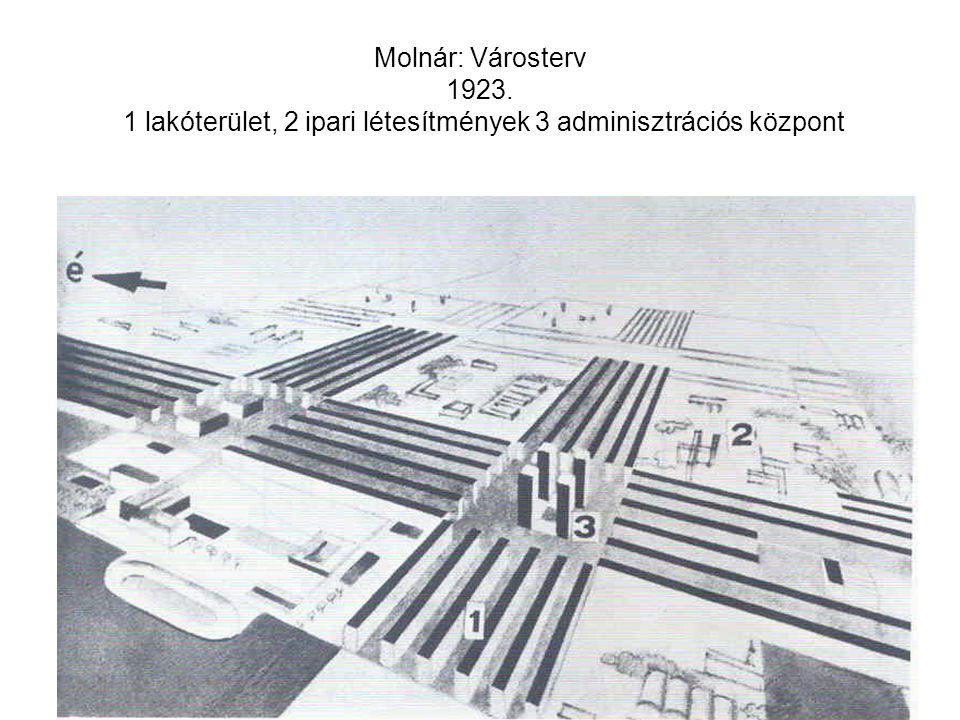 Molnár: Cserje u. 4/a., 1931.