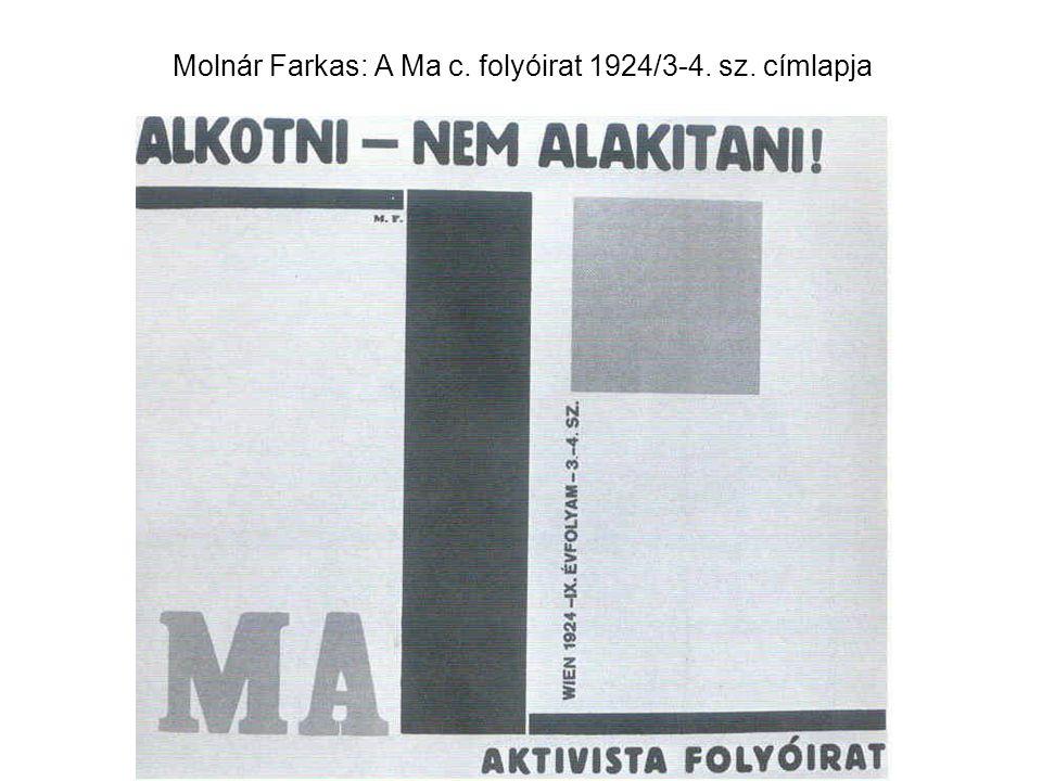 Molnár: Nyaraló, Felsőgöd, 1934.