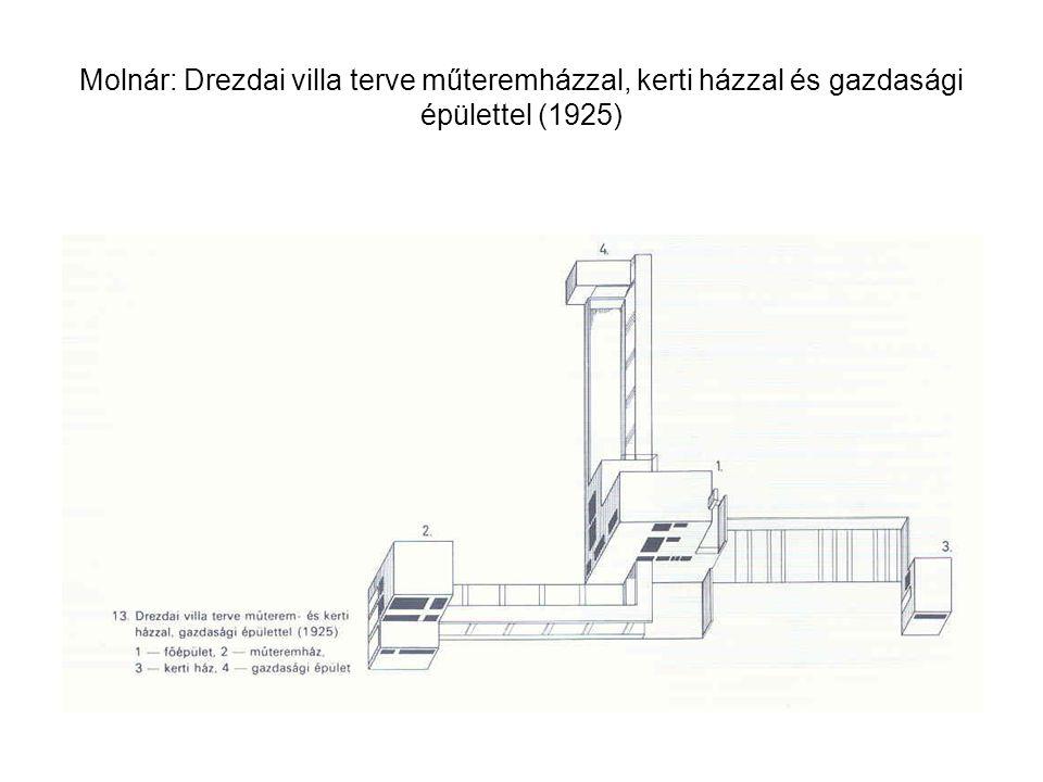 Molnár: pestújhelyi volt OTI Munkáskórház személyzeti épülete, 1936. Fischer Józseffel