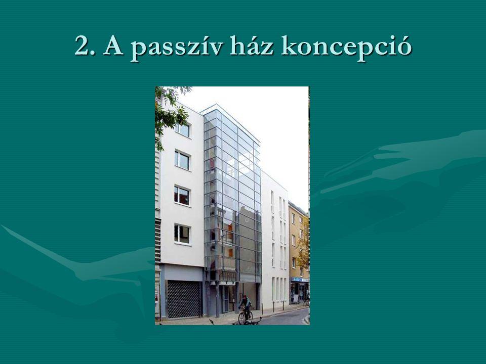 2. A passzív ház koncepció