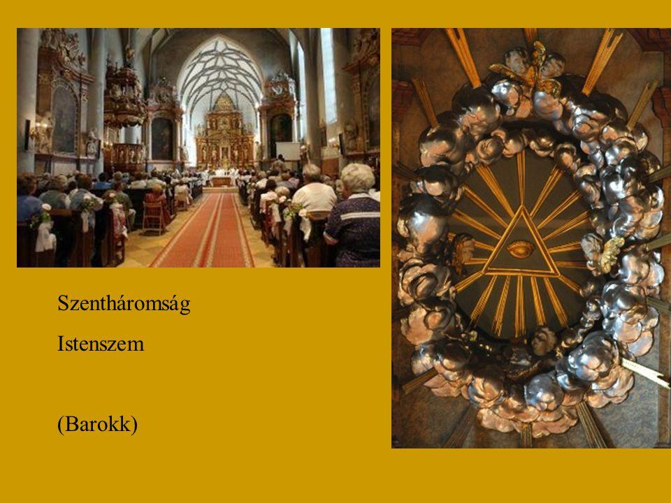 Szentháromság Istenszem (Barokk)