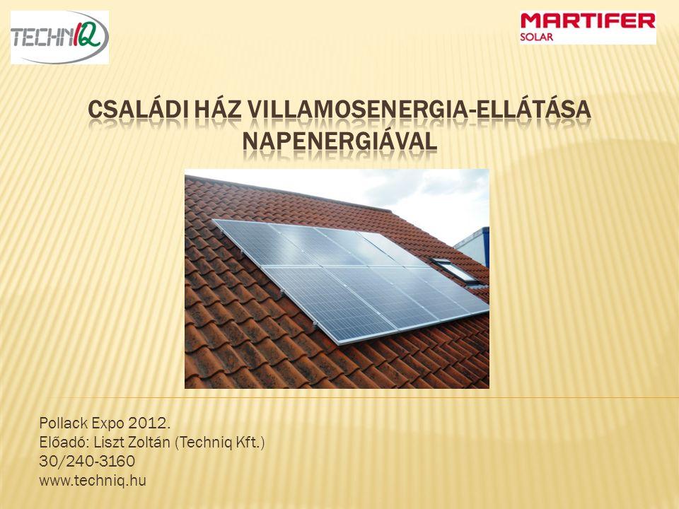  Tematika:  A háztartási méretű kiserőművek  Az erőművünk főbb elemei  A létesítés menete szerelési sorrendben  Az erőmű üzembe helyezése, üzemeltetése
