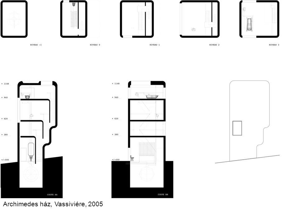 Archimedes ház, Vassiviére, 2005