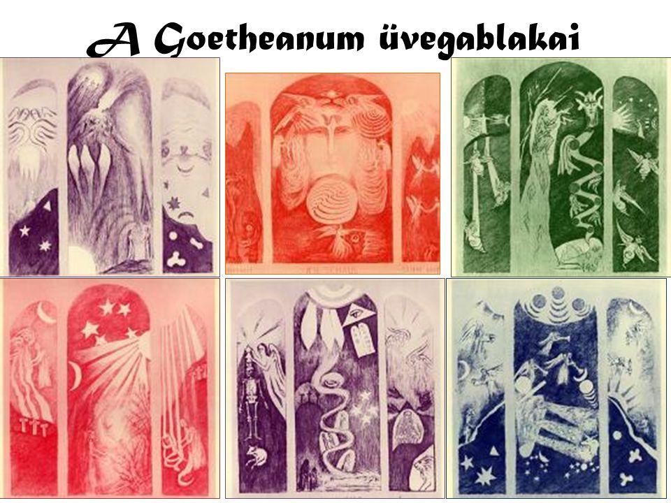 A Goetheanum üvegablakai