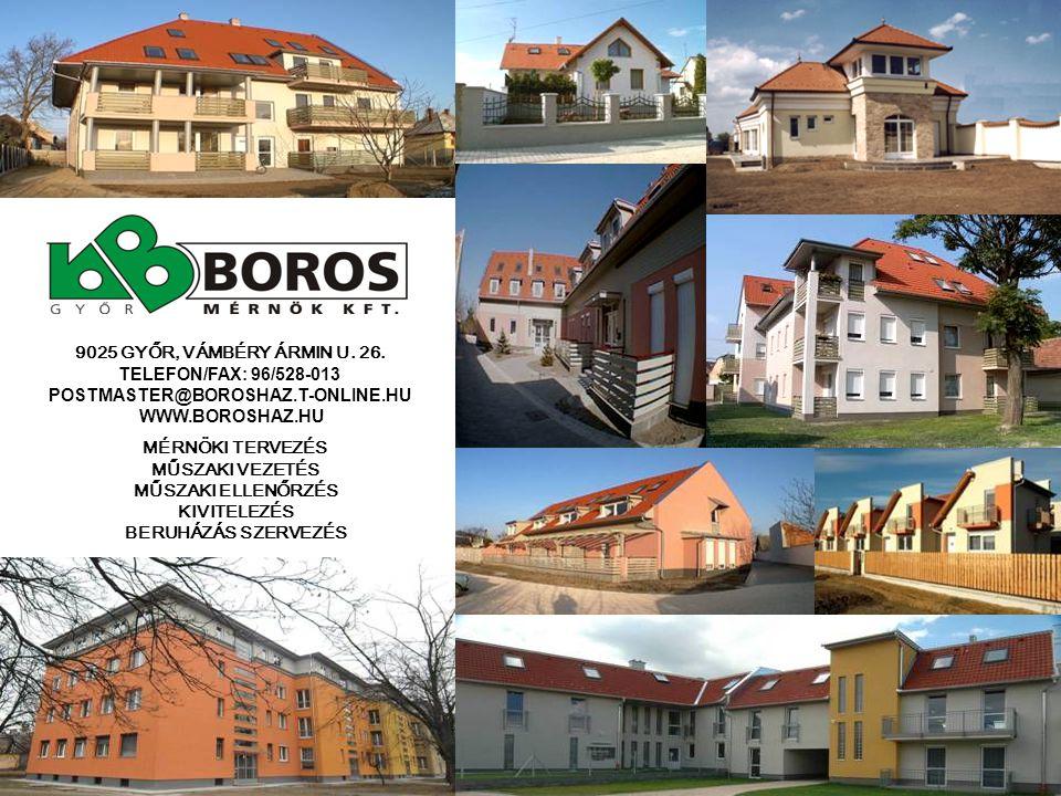  GYŐR, BOTOND UTCAI PROJEKT - 2003