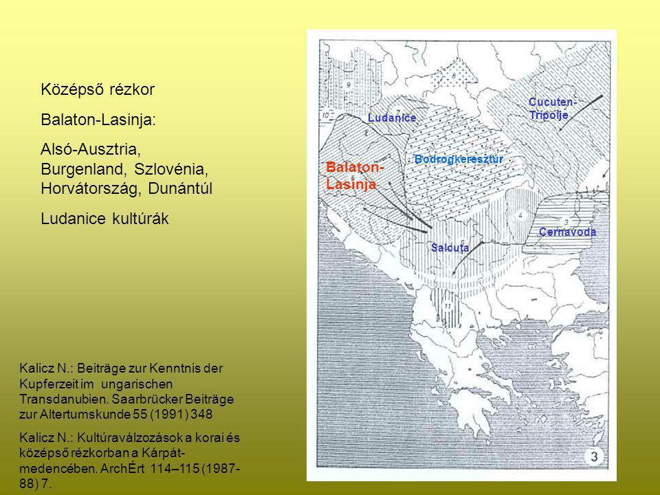 Bodrogkeresztúr Balaton- Lasinja Ludanice Salcuţa Cernavoda Cucuten- Tripolje Kalicz N.: Beiträge zur Kenntnis der Kupferzeit im ungarischen Transdanu