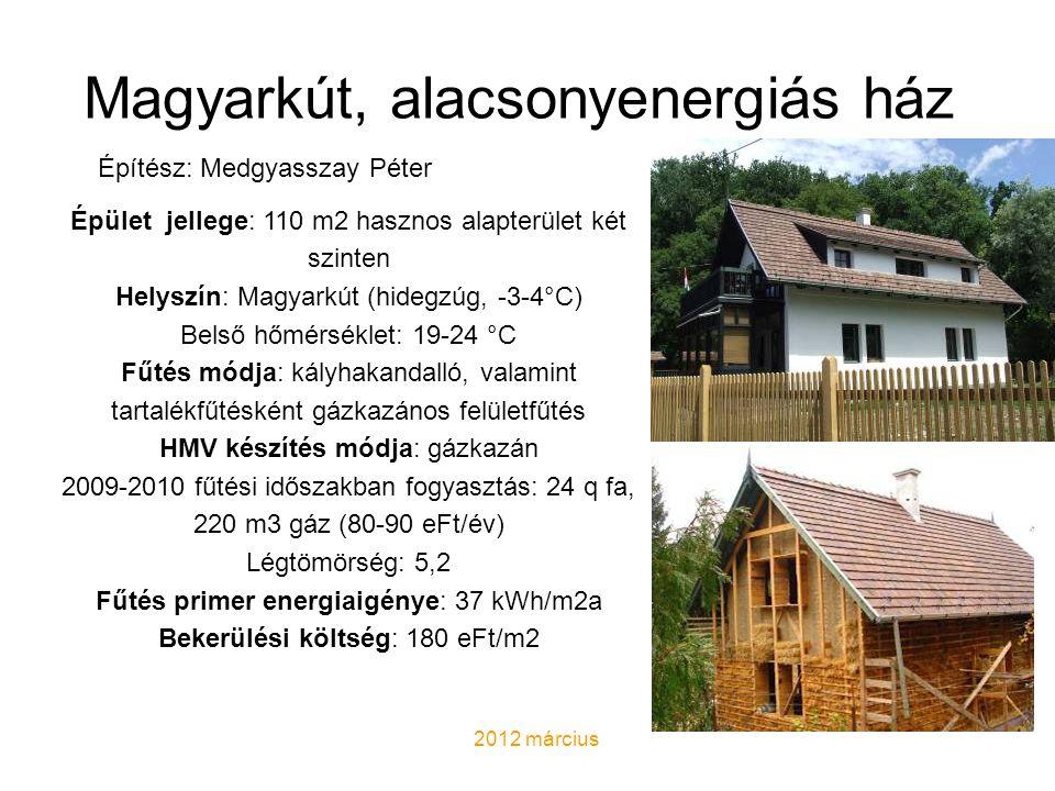 AUTONÓM HÁZ AZ ALPOKBAN Tervező: Andrea Deplazes • Fenntarthatóság minden szinten • a jövő autonóm háza • alternatív energiák hasznosítása • extrém körülmények • nincsenek közművek, utak • a hulladékot sem viszik el a háztól • a napenergia és a gravitáció kihasználása • szuperszigetelés, • légtömörség • hővisszanyerés • passzívház-technológia