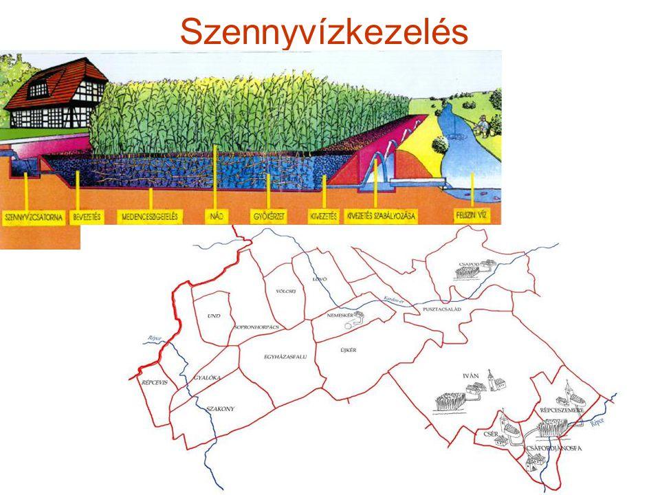 Falu és táj, autonóm kistérségek - a fenntartható, organikus tájhasználat által a vidéki-falusi településforma fenntarthatóvá tehető és felesleg-potenciált biztosít a város számára.