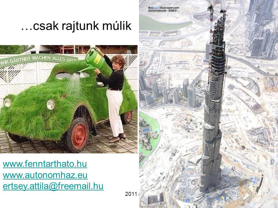2011 április …csak rajtunk múlik www.fenntarthato.hu www.autonomhaz.eu ertsey.attila@freemail.hu
