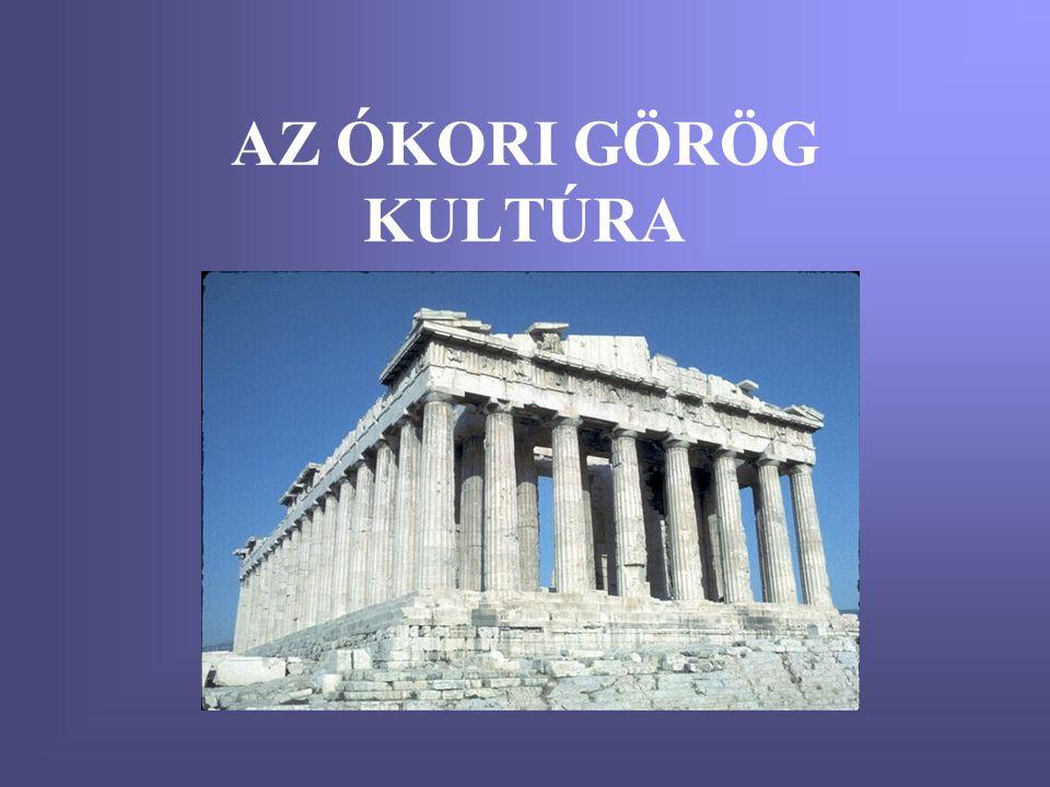 Korszakok •Homéroszi kor (i.e.1200-i.e. 800) •Poliszok kora (i.e.776-i.e.