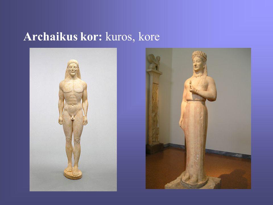 Archaikus kor: kuros, kore