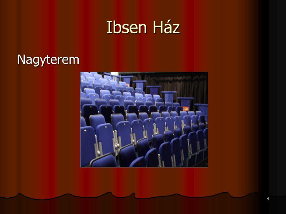 Ibsen Ház Nagyterem 4
