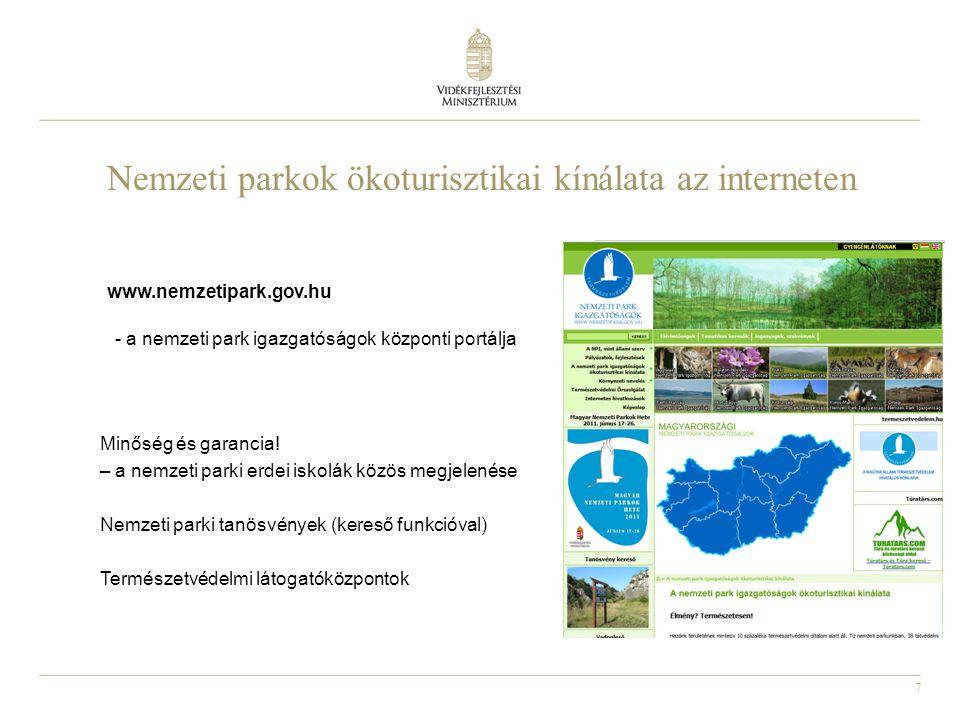 7 Nemzeti parkok ökoturisztikai kínálata az interneten Minőség és garancia.