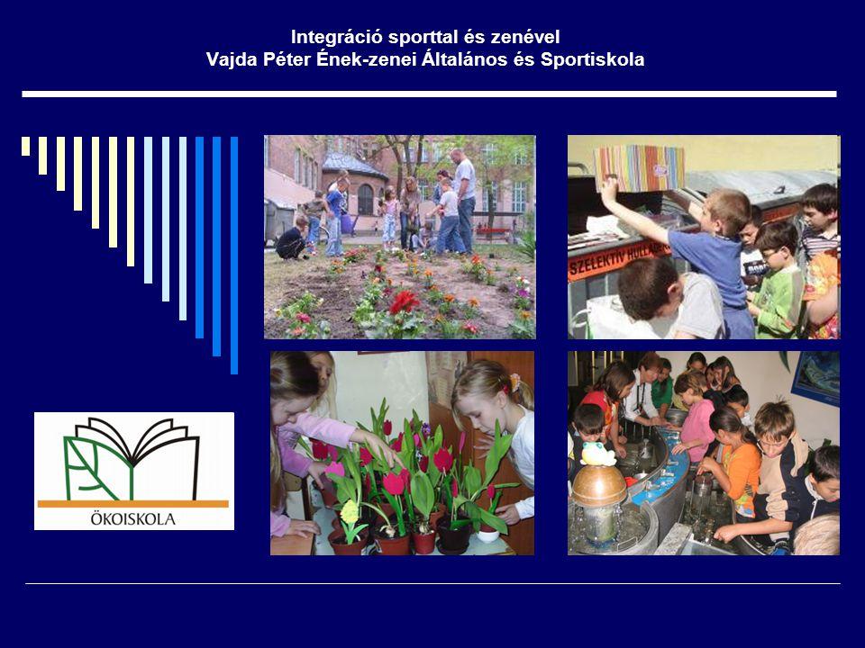 Integráció sporttal és zenével Vajda Péter Ének-zenei Általános és Sportiskola