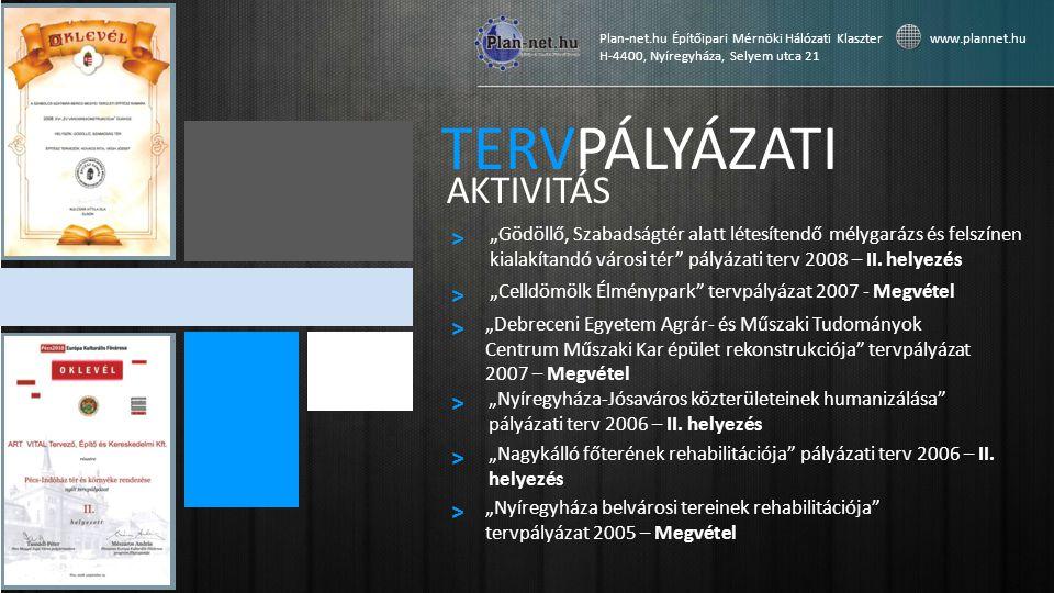 """TERVPÁLYÁZATI AKTIVITÁS """"Gödöllő, Szabadságtér alatt létesítendő mélygarázs és felszínen kialakítandó városi tér pályázati terv 2008 – II."""