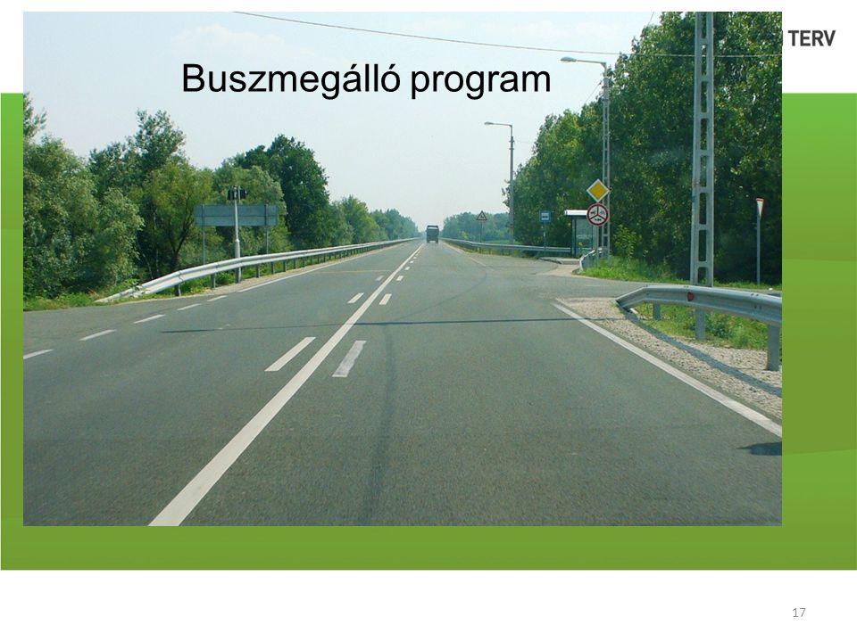 Buszmegálló program 17