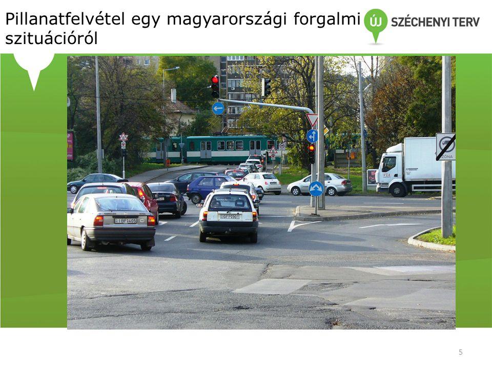 Pillanatfelvétel egy magyarországi forgalmi szituációról 5