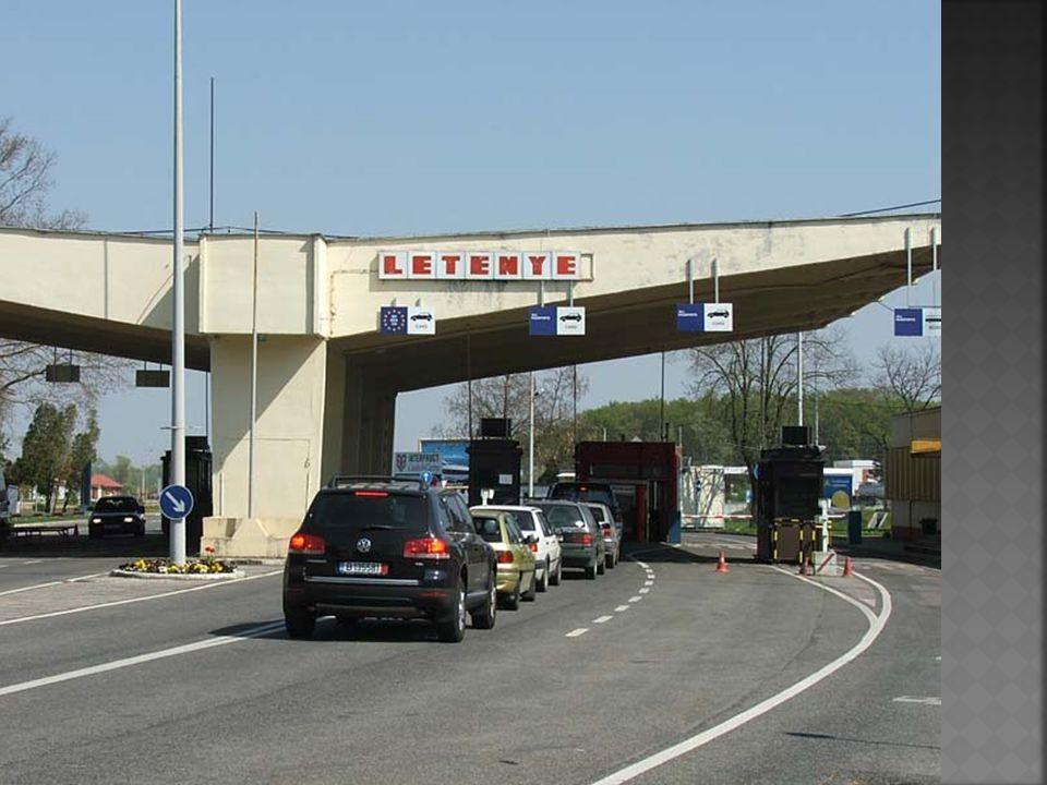  1923 óta Letenye fontos határátkelőhely