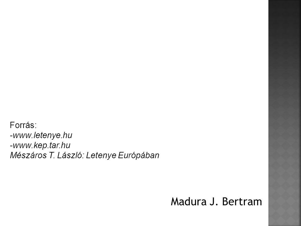 Madura J. Bertram