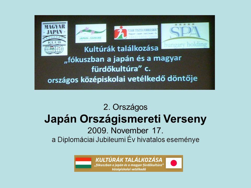MJGK események 2009 A magyar-japán diplomáciai kapcsolatok felvételének 140.