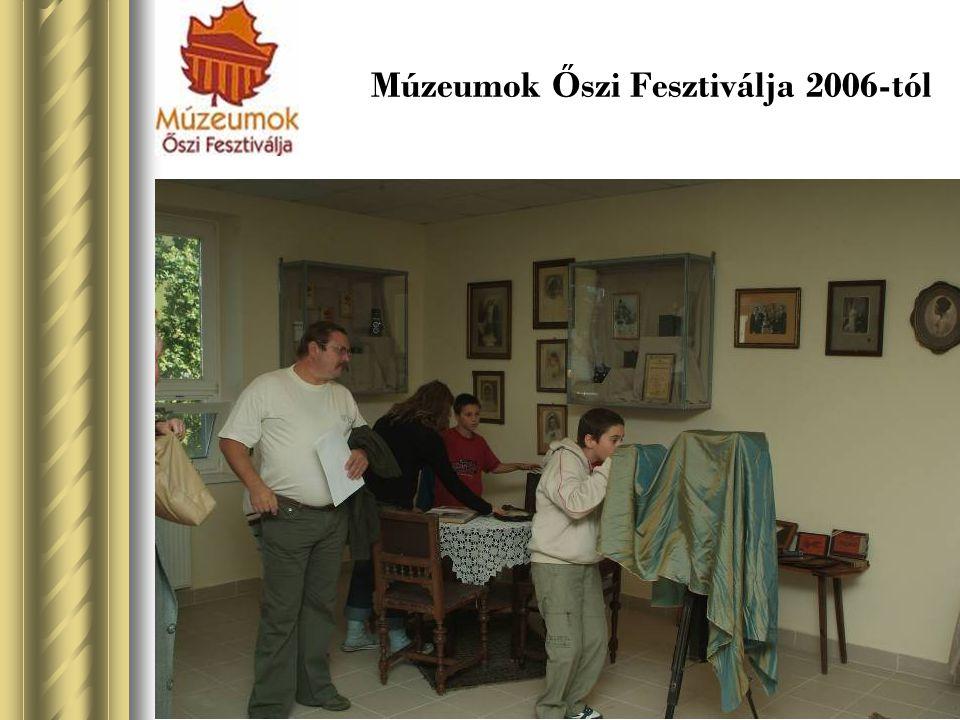 Múzeumok Ő szi Fesztiválja 2006-tól