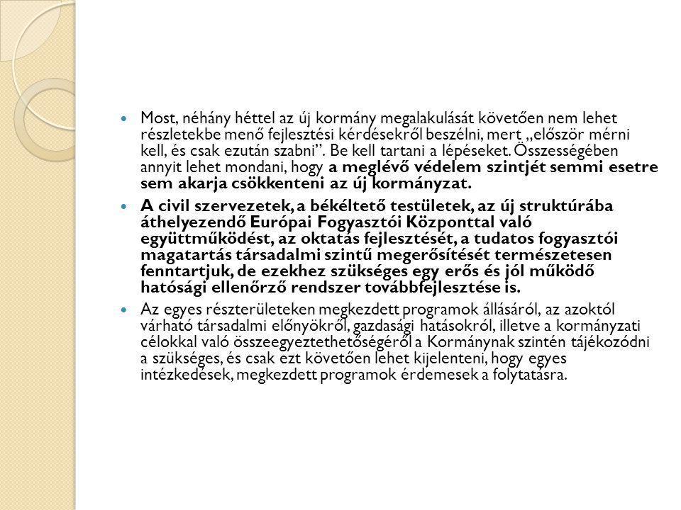 2010.05. 31. Békéltető testületekről (Simon Gábor) írásbeli kérdés  Tisztelt Miniszter Úr.