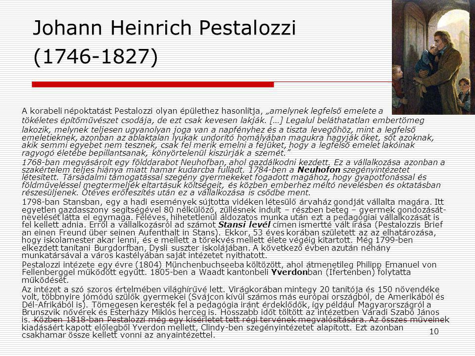 11 Szociálpedagógia elnevezés  1850 – Adolph DIESTERWEG Útmutató német tanárok képzéséhez (Wegweiser zur Bildung für deutsche Lehrer) Korábbi nézőpont: veszélyeztetett, elhanyagolt fiataloktól védeni kell a társadalmat, hogy működőképességét ne veszélyeztesse A fiatalok szorulnak segítségre a modern társadalomban ( casework módszere Angliában!) Szociálpedagógia feladata: a hagyományos iskolai rendszerből kiszoruló fiatalok társ.-i beilleszkedésének elősegítése (szükségesek kutató tanárok)
