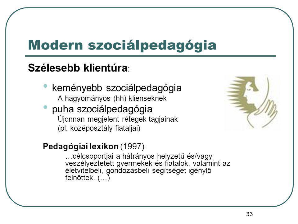 34 Klaus MOLLENHAUER (1928-1998) Az 1960-as évek jelentős szociálpedagógusa A Bäumer-féle felfogást vallja: nevelési rendszerek: család szociálpedagógia iskola