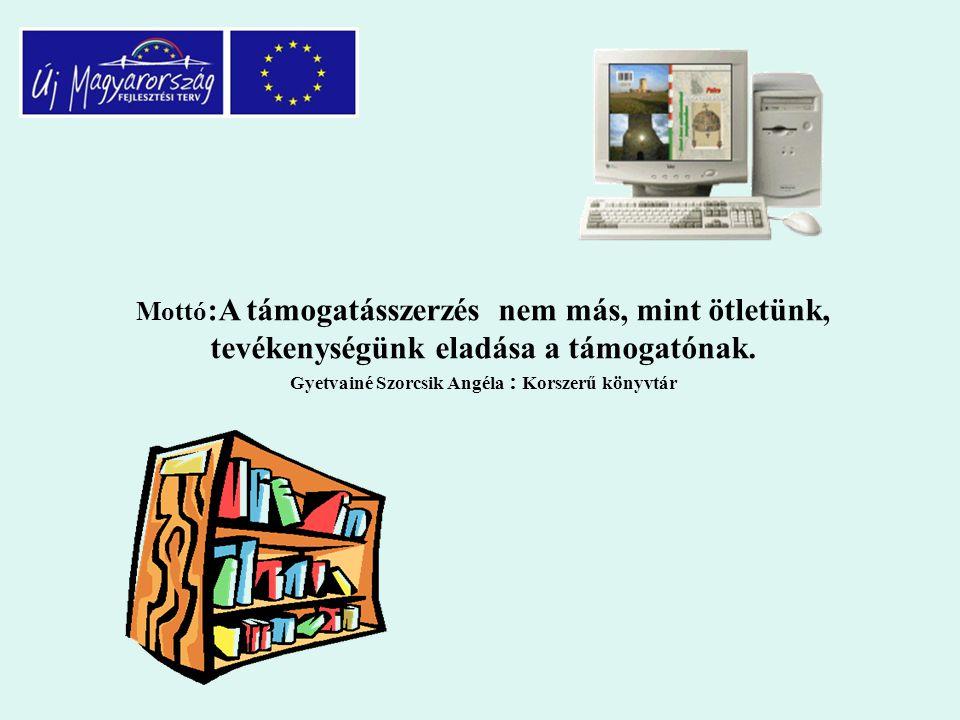 """Pályázatról általában Kiíró szerv: Nemzeti Fejlesztési Ügynökség Pályázat megnevezése: Könyvtári szolgáltatások összehangolt infrastruktúra-fejlesztése- """"Tudásdepó Expressz """" Kódszám: TIOP-1.2.3/08/01 Az elnyert projekt címe címe: """"Könyvtári szolgáltatások összehangolt fejlesztése, Zalai Tudástár létrehozása"""