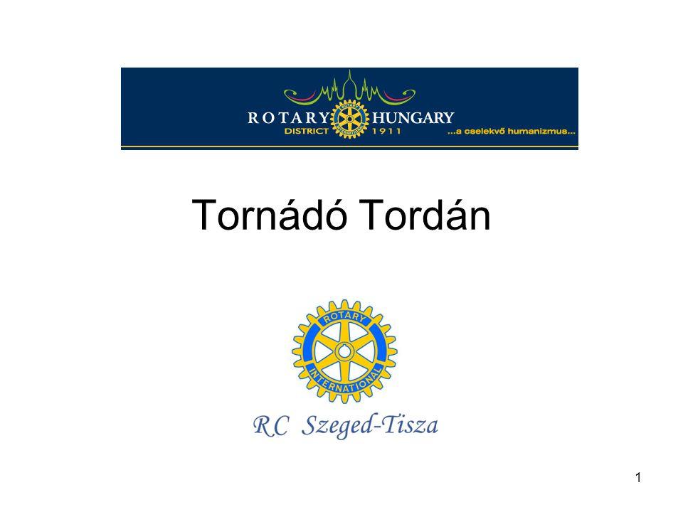 1 Tornádó Tordán