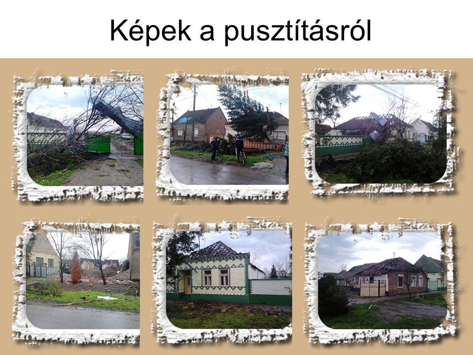 4 Képek a pusztításról