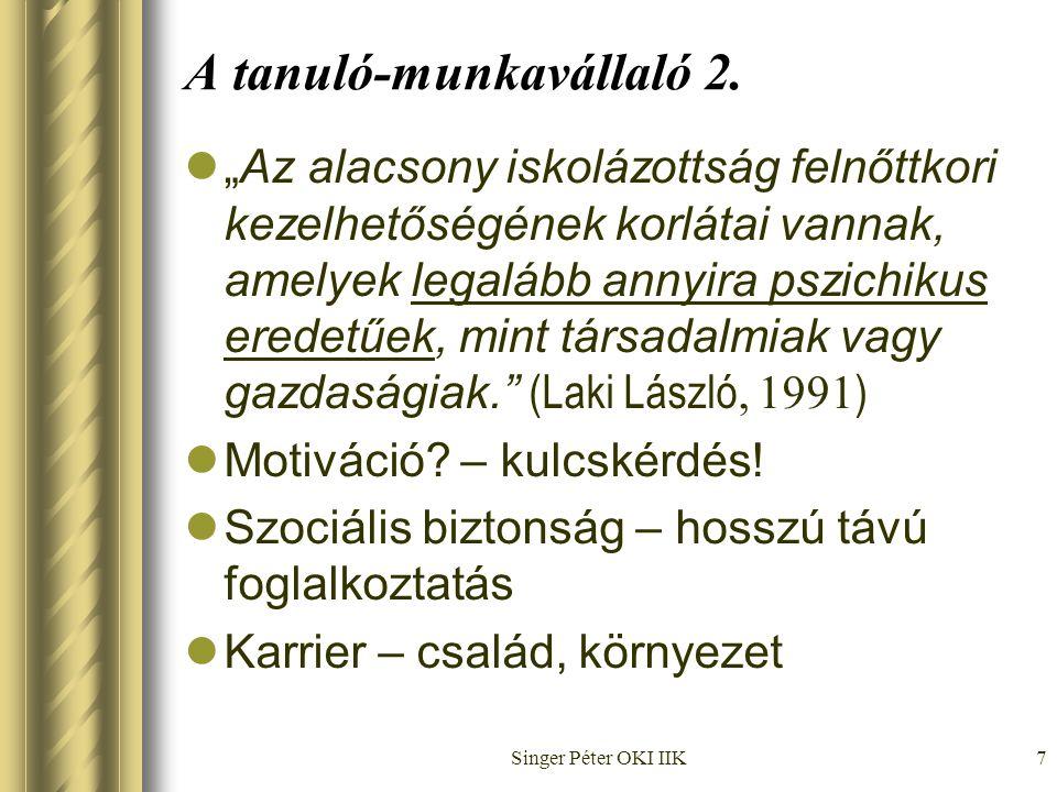 Singer Péter OKI IIK7 A tanuló-munkavállaló 2.