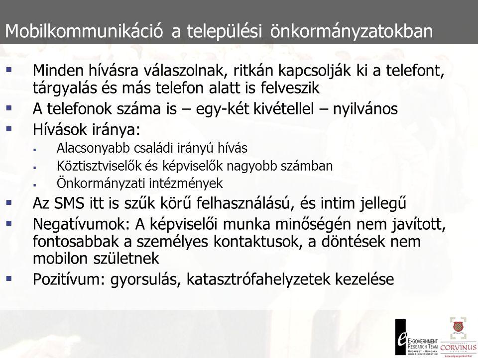 Mobilkommunikáció a 2002-es országgyűlési választási kampányban Politikai humor:  Hasonlóan gyorsan terjednek, mint a faktoidok  Gyakran komoly munka (stratégia) van mögöttük  A viccek megerősítő, feszültségoldó szerepe fontos  A vicceknek sajátos folklórja alakul ki  Azonnali reakció az aktuálpolitikára:  ( Bokros Lajos vagyok.