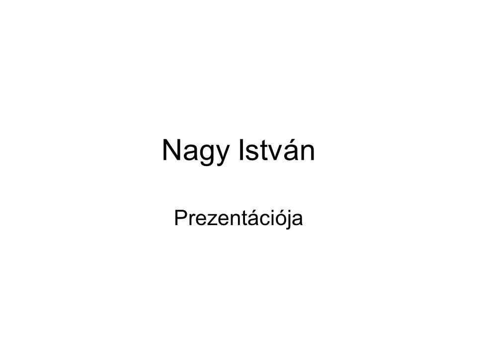 Nagy István Prezentációja