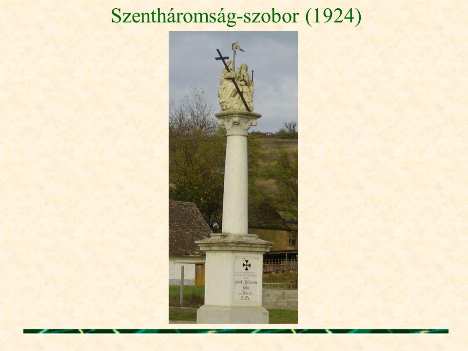 Szentháromság-szobor (1924)