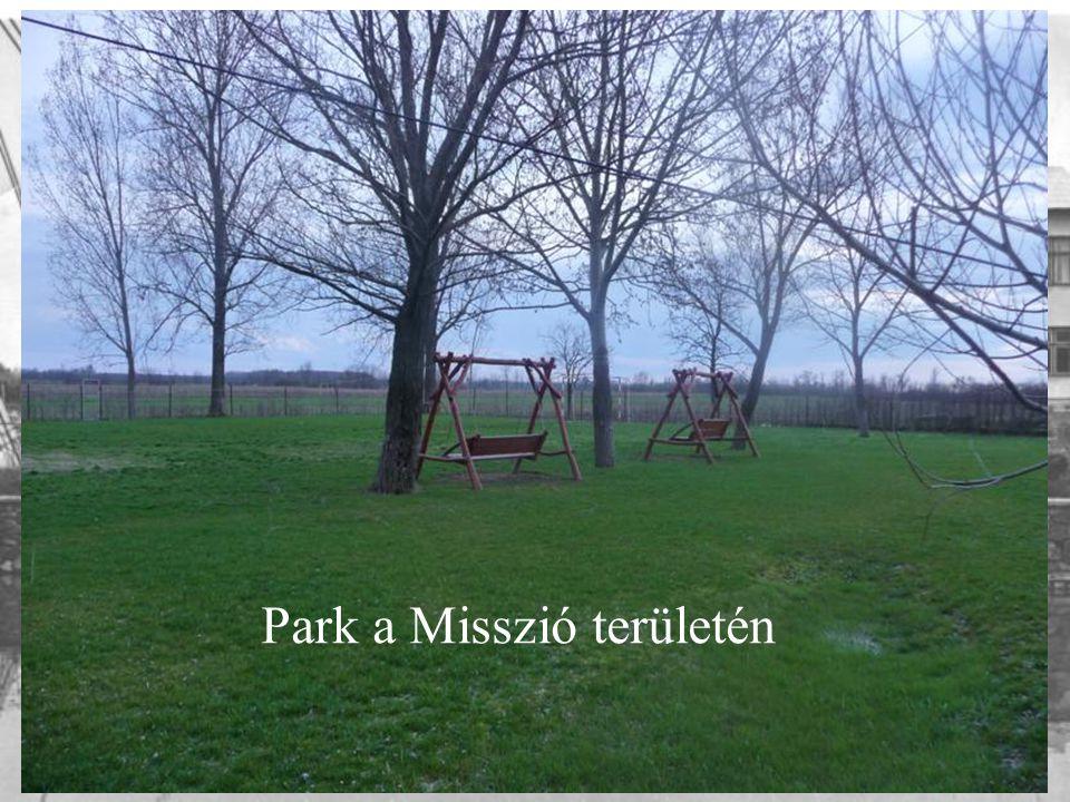 Park a Misszió területén