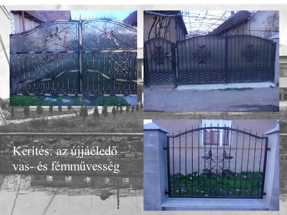 Kerítés: az újjáéledő vas- és fémművesség