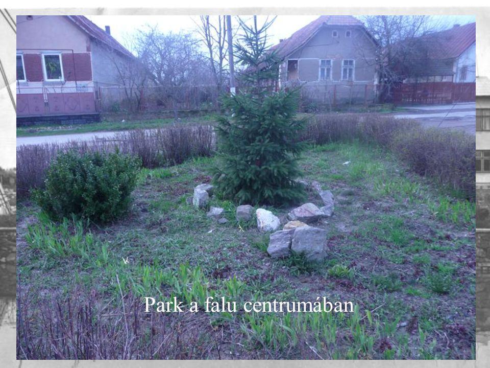 Park a falu centrumában
